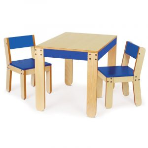 wooden table and chair set for toddlers blue wooden table and chair set for toddlers