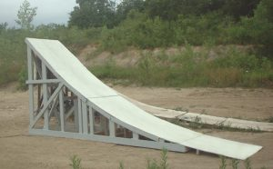 wooden wheel chair ramp sthgrayleftrearview