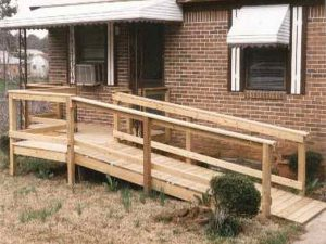 wooden wheel chair ramp wood wheelchairs ramp plans free