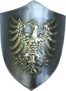 wrought iron chair shield wrought iron brass