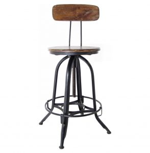 wrought iron chair product