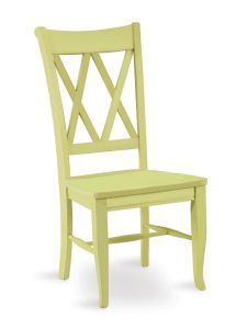 x back chair chair double x back pear