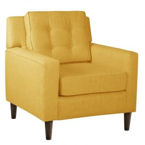 yellow accent chair l