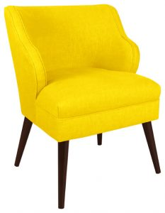 yellow accent chair contemporary armchairs and accent chairs